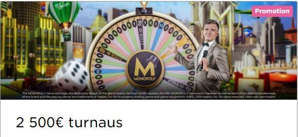 Mr Green - Monopoly Live -kampanja