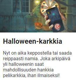 LeoVegas jakaa Halloween-karkkia