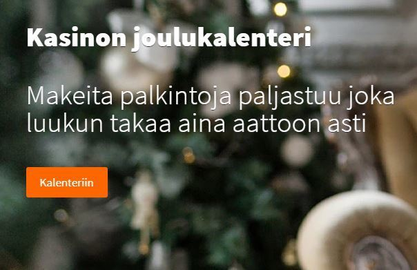 Betsson - joulukalenteri
