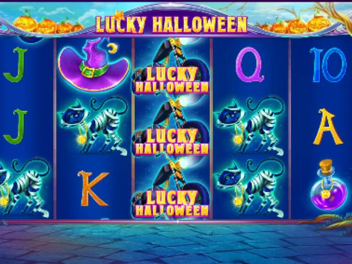 Lucky Halloween iframe