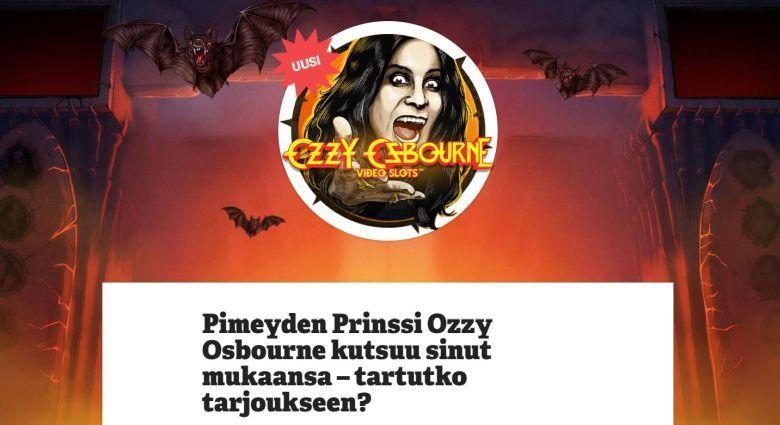 Paf - Ozzy Osbourne -kisa