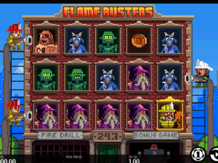 flame busters iframe