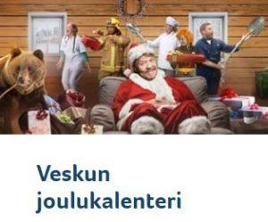 Kolikkopelit - Veskun joulukalenteri