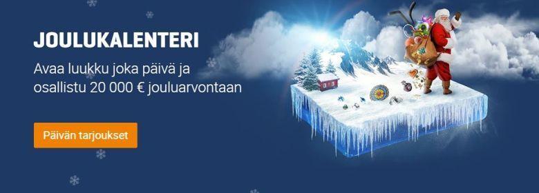 NordicBetin joulukalenteri 2019