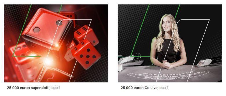 Unibetin 200 000 euron hillitön haaste