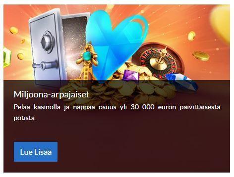 SuomiArvat ja miljoonan arvoinen potti