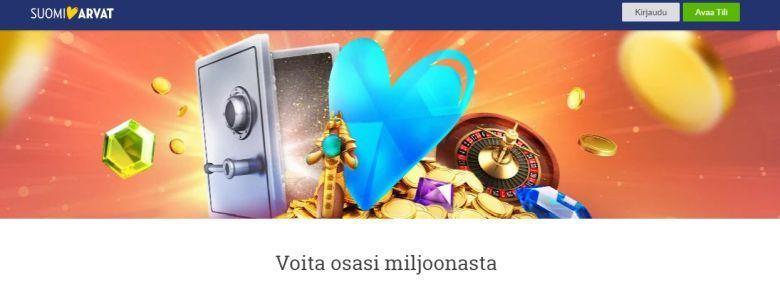 SuomiArvat ja miljoonan potti